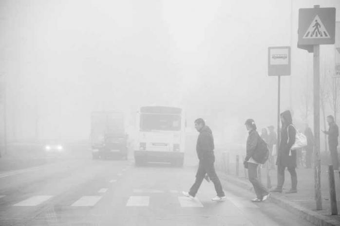 Avertizare ceata si vant