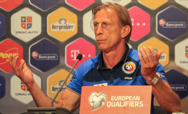 Christoph Daum, selecţionerul naţionalei de fotbal a României. FOTO Arhivă Monitorul