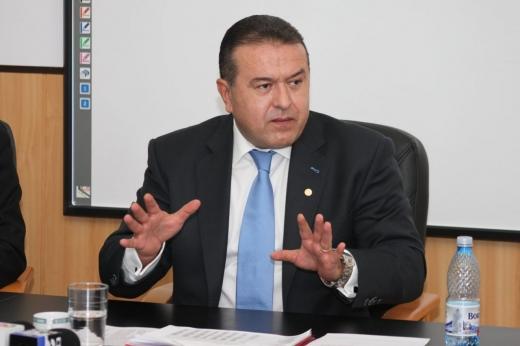 Mihai Dărăban, preşedintele Camerei de Comert si Industrie