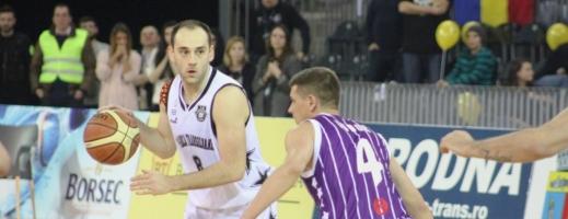 Adamović consideră că echipa din Piteşti le-a pus cele mai multe probleme clujenilor în sezonul regulat. FOTO Arhivă