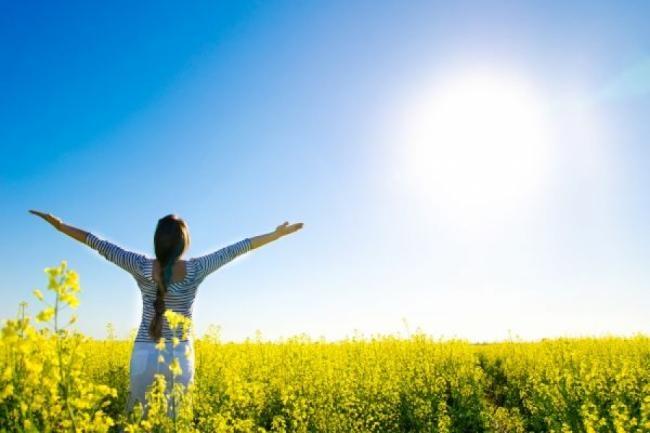 Vitamina D se sintetizează prin piele, realizată în urma expunerii la soare