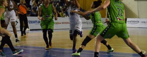 Clujencele ocupă după etapa trecută locul doi în Liga Naţională feminină. FOTO ARHIVĂ Silviu Cristea
