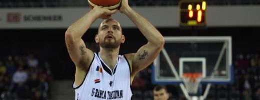 Vlad Moldoveanu a trecut borna de 20 de puncte în meciul cu Steaua. FOTO Arhivă Monitorul