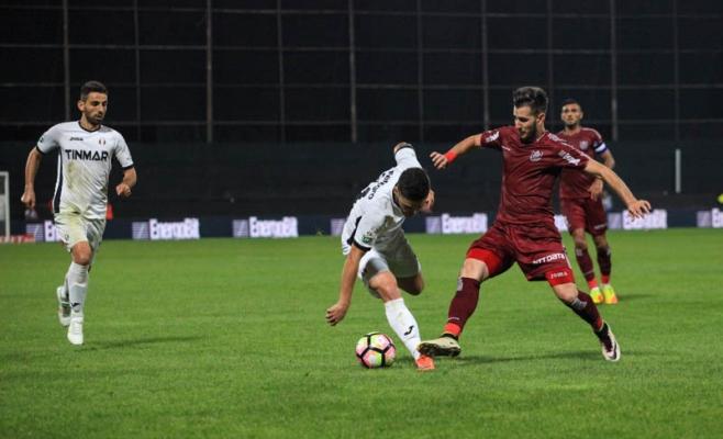 Adrian Păun a marcat iar pentru CFR, cu Astra. FOTO Arhivă Monitorul