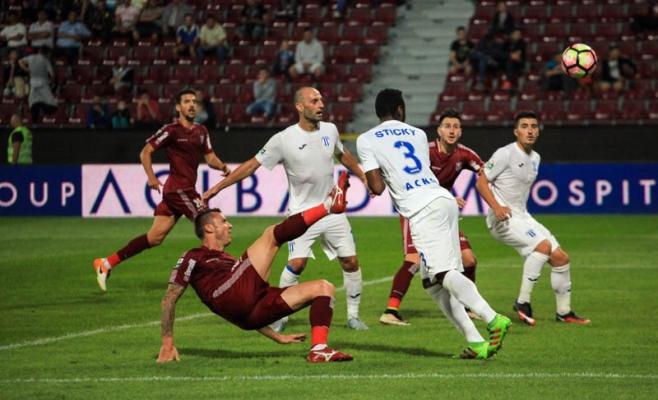 Cristi Bud are 11 goluri în Liga 1 în sezonul actual. FOTO Arhivă  Monitorul