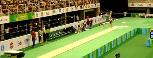 Cătălina Ponor a cucerit recent două medalii de aur la concursul de Cupă Mondială de la Baku