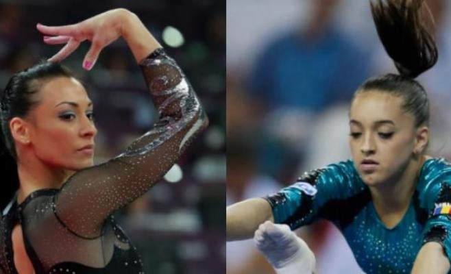 Larisa Iordache şi Cătălina Ponor sunt cele mai consacrate gimnaste din lotul feminin. FOTO digisport.ro