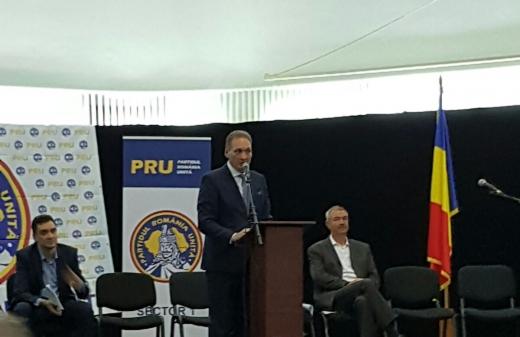 Fostul senator Alexandru Cordoş a fost ales vicepreşedinte al PRU