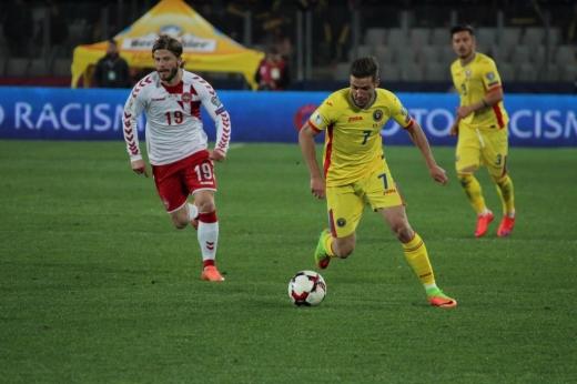 Chipciu i-a lăsat în minutul 75 locul lui Andrei Ivan. FOTO / Cosmina Măcicăşan