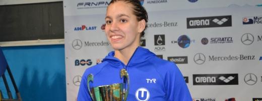 Ana Dascăl a fost una din cele mai tinere participante la Olimpiada de la Rio din 2016