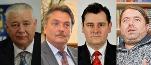 Marius Nicoară, Lasylo Attila, Vasile Ilea şi Mihai Goţiu