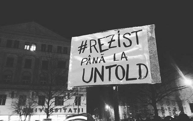 Protestele nu s-au stins de tot. Cateva zeci de protestatari participa inca duminica de duminica