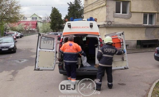 Muncitor RĂNIT la barajul de la Mănăstirea, transportat de urgență la spital   sursa foto dej24.ro