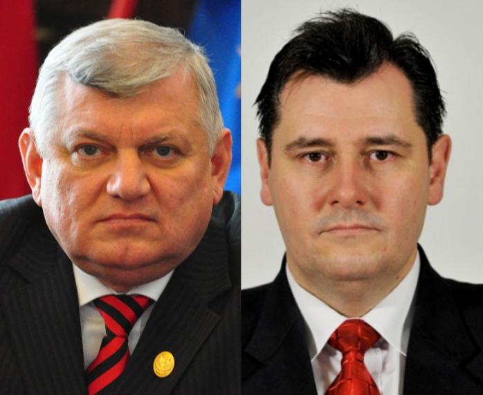 Deputatul Cornel Itu şi senatorul Vasile Ilea