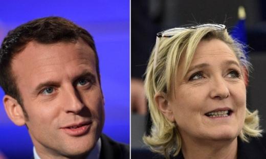 Macron şi Le Pen au câştigat primul tur al scrutinului prezidenţial din Franţa-rezultate defintive
