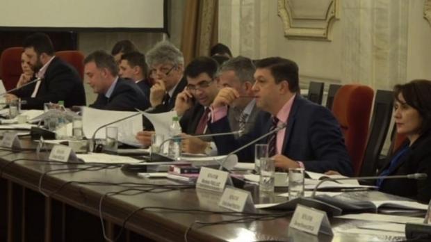 Comisia juridică din Senat a dat raport de admitere