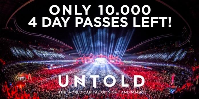 Ultimele 10.000 de abonamente disponibile la UNTOLD 2017