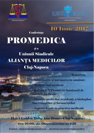"""Punctele """"nevralgice"""" din sistemul sanitar românesc, dezbătute la Conferinţa Promedica şi USM Alianţa Medicilor"""