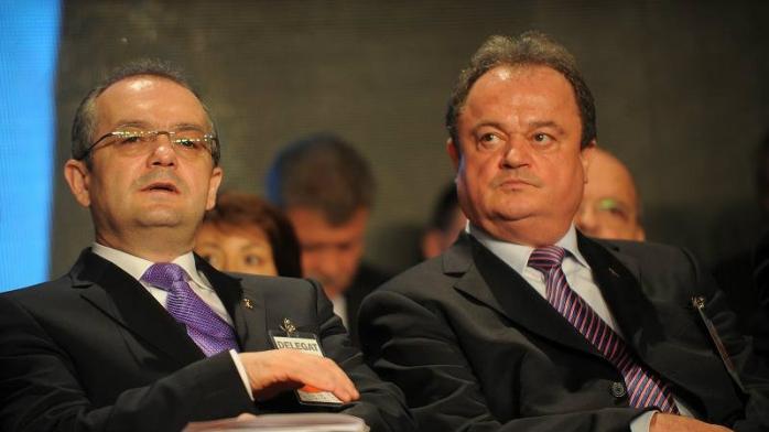 Emil Boc și Vasile Blaga
