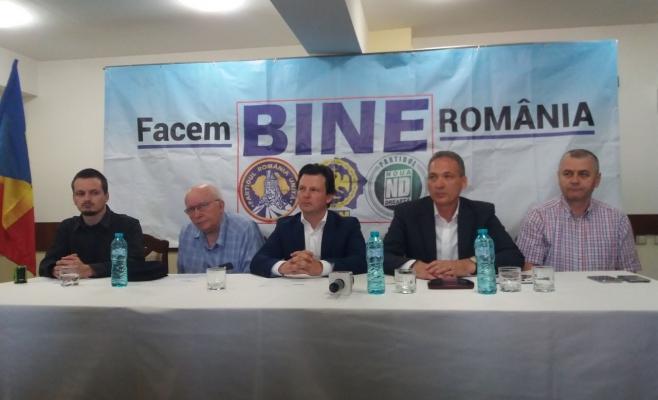 Trei partide naționaliste au semnat la Cluj o noua alianţă politică, botezată BINE