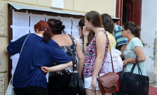ADMITEREA la liceu 2017 - Cea mai mică medie cu care s-a intrat la un liceu din Cluj: 3,77