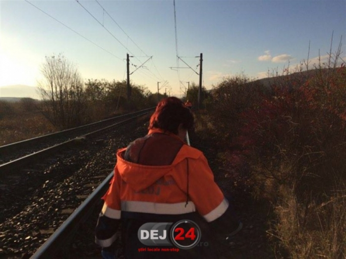 Accident MORTAL în Bonțida. Un bărbat a sfârșit lovit de un utilaj CFR  Sursa foto dej24.ro.