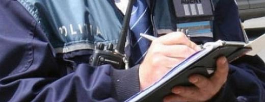 Poliţiştii clujeni au împărţit amenzi la Dej