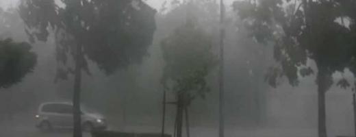 Clujul, sub avertizare de furtună
