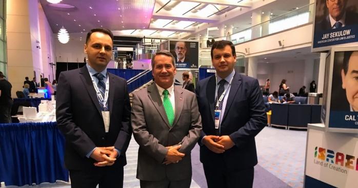 Senatorul Cristian Lungu, preşedintele PMP Cluj, s a întâlnit cu membri ai Congresului SUA