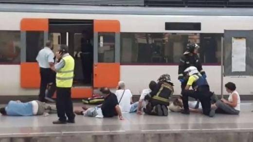 Accident feroviar la Barcelona, la intrarea în Gara Francia. Sunt 48 de răniţi, între care şi un român