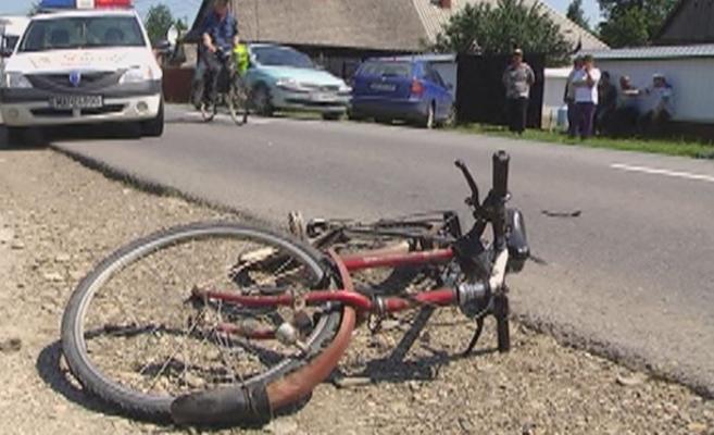 Biciclist accidentat mortal la Cluj, după ce i-au cedat frânele  Foto arhiva