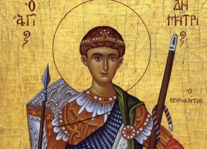 Sfântul Dumitru, patronul păstorilor, serbat astăzi de credincioşi