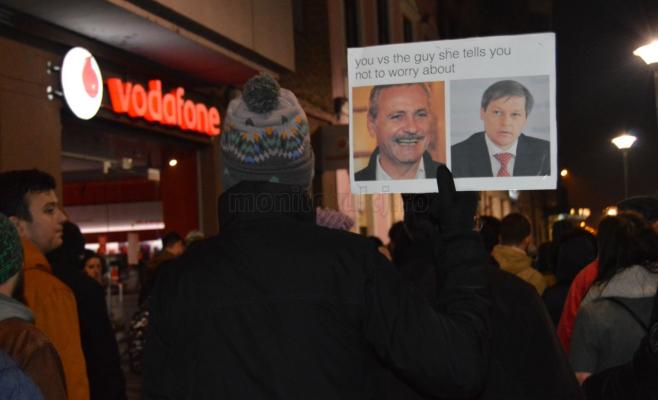 Protest Piața Unirii