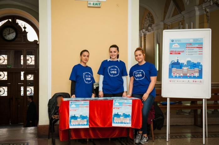 """""""Donăm împreună, UBB dă startul!"""". Un singur donator poate salva trei vieți."""