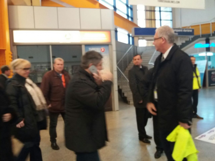 Vizită surpriză la Aeroportul Cluj