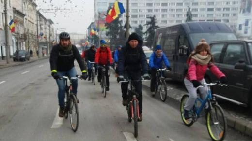 Bicicliştii clujeni ies din nou în stradă