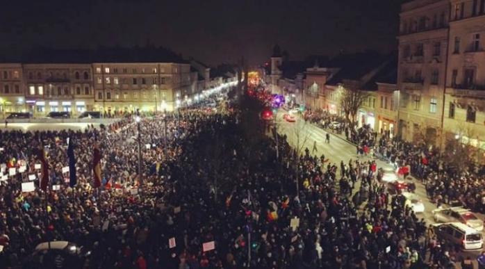 Sursă foto: Facebook Umbrela Anticorupție Cluj