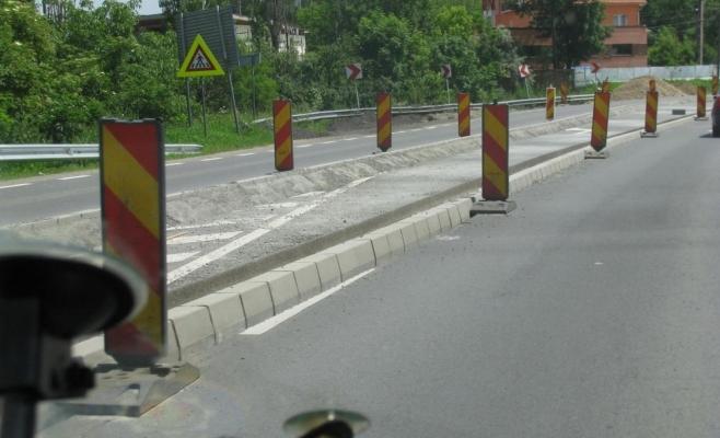 Compania de Drumuri va monta parapete de beton pe drumul care leagă Turda de Alba