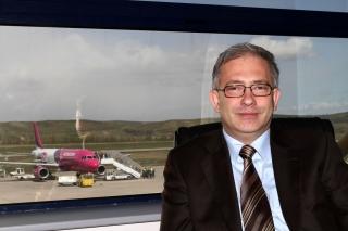 Directorul Aeroportului Cluj-Napoca, David Ciceo. Foto: Air Transport News