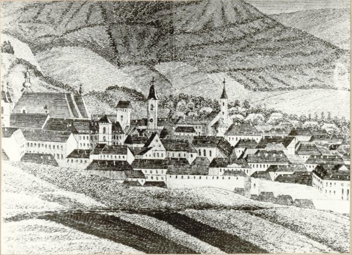 Prima gravură a Clujului, din 1617, i-a fost atribuită lui Georg Houfnagel