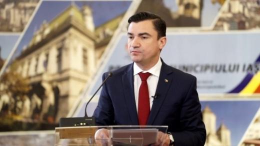 Mihai Chirica, primarul Iasiului, vrea o alianta cu Clujul. Foto: ziaruldeiasi.ro