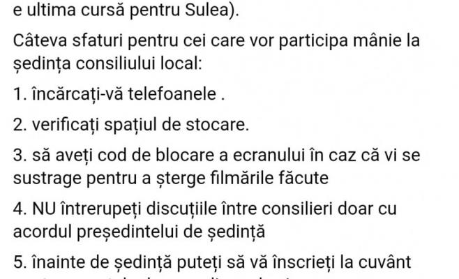Locuitorii din Floresti se mobilizeaza pe Facebook sa participe la sedinta Consiliului Local