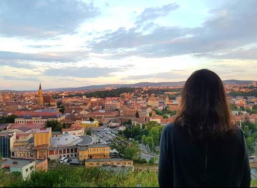 Juliette Robin studiază medicina la Cluj / Sursa foto: Facebook.com