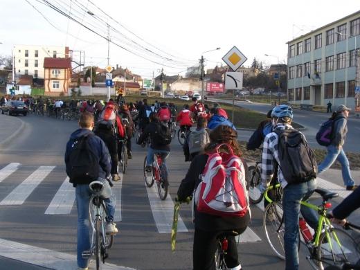 mars biciclisti Cluj