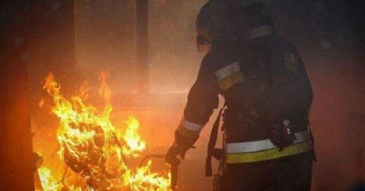Incendiu la o locuință improvizată din Florești