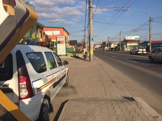 Un șofer a fost prins cu 124 km/h în Cluj-Napoca