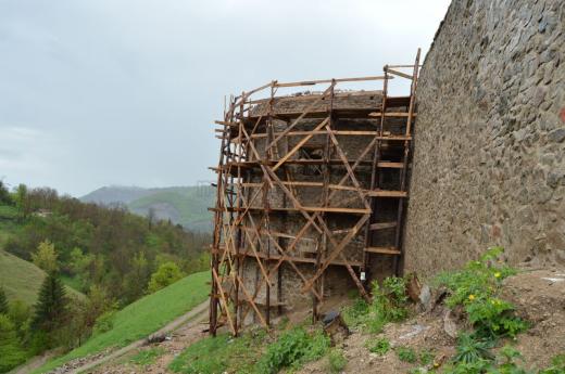 Cetatea Medievală de la Bologa, lucrări de reabilitare