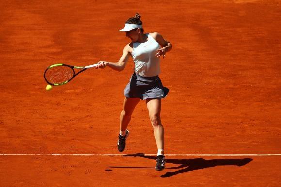 Simona Halep la turneul WTA de la Madrid