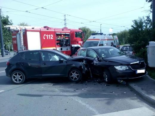 Accident Strada Salcâmului