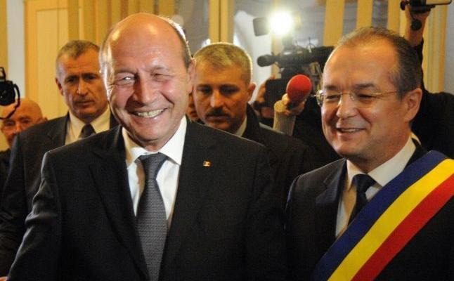 Traian Băsescu și Emil Boc